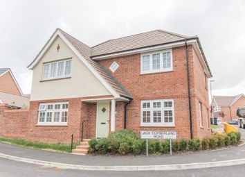 Thumbnail 4 bed detached house for sale in Jack Cumberland Road, Market Harborough