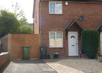 Thumbnail 2 bed semi-detached house for sale in Heaton Close, Shrewsbury