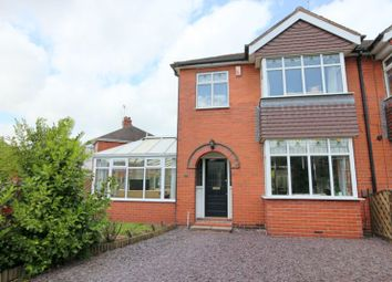 Thumbnail 3 bed semi-detached house for sale in Heath Place, Newcastle