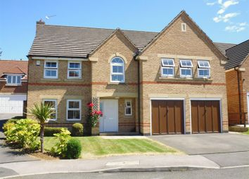 Thumbnail 5 bedroom detached house for sale in Vindex Close, Lincoln