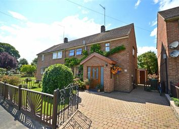 Thumbnail 3 bed semi-detached house for sale in Garners Way, Harpole, Northampton