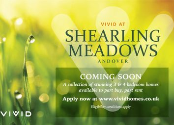 Thumbnail 3 bed terraced house for sale in Shearling Meadows, Andover