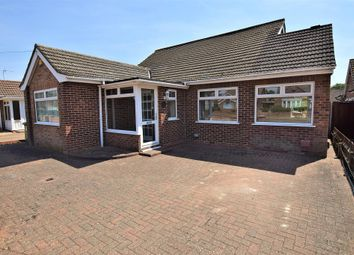 Thumbnail 4 bed detached bungalow for sale in Desborough Road, Hartford, Huntingdon
