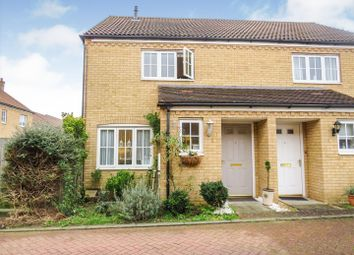 Thumbnail 2 bed semi-detached house for sale in Pasture Grove, Ely