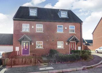 Thumbnail 3 bedroom town house for sale in Ultra Close, Wellingborough