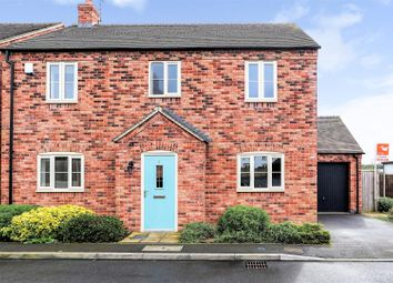 Thumbnail 3 bed detached house for sale in Old Plough Close, Weston-On-Trent