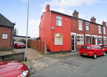 Thumbnail 3 bed end terrace house for sale in Langley Street, Basford, Stoke-On-Trent