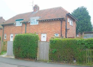 Thumbnail 2 bed semi-detached house for sale in Endcliff Crescent, Scarborough