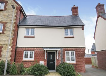Thumbnail 2 bed end terrace house for sale in Farwell Crescent, Chickerell, Weymouth