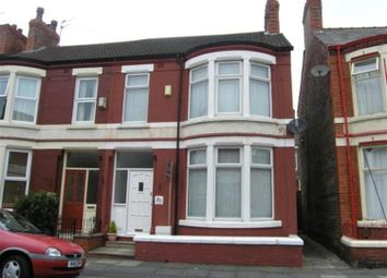 Thumbnail 3 bed semi-detached house to rent in Barrington Road, Wallasey