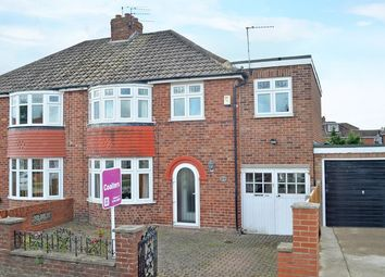 Thumbnail 3 bedroom semi-detached house for sale in Fifth Avenue, York