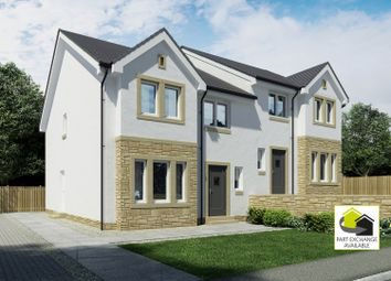 Thumbnail 4 bed semi-detached house for sale in Holmhead Gardens Hospital Road, Cumnock, East Ayrshire