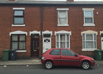 Thumbnail 2 bed terraced house to rent in Dalkeith Street, Walsall, West Midlands