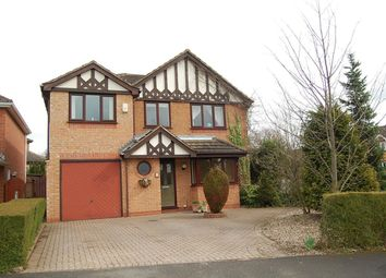 Thumbnail 4 bed detached house to rent in Talgarth Close, Oakwood, Derby