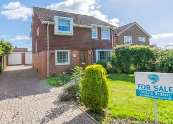 Thumbnail 4 bed detached house for sale in Springett Avenue, Ringmer