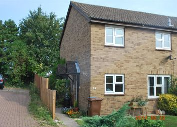 Thumbnail 1 bed semi-detached house to rent in North Bank Close, Strood, Rochester