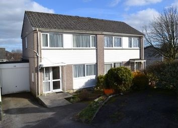Thumbnail 3 bed semi-detached house to rent in Dennis Road, Liskeard