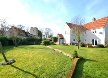 Thumbnail 4 bed detached house for sale in Cricket Meadow, Stradishall, Newmarket