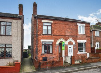 Thumbnail 2 bed semi-detached house for sale in King Street, Pinxton, Nottingham