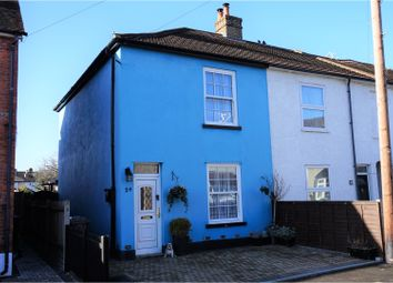 Thumbnail 3 bed semi-detached house for sale in Victoria Road, Addlestone
