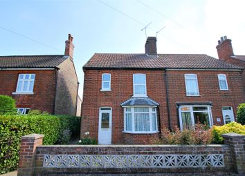 Thumbnail 4 bed semi-detached house for sale in Bradfield Road, North Walsham