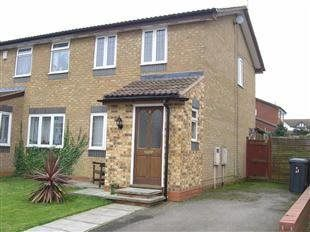 Thumbnail 2 bedroom semi-detached house to rent in Catchpole Close, Corby