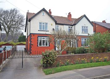 Thumbnail 5 bedroom semi-detached house for sale in Manston Gardens, Crossgates, Leeds
