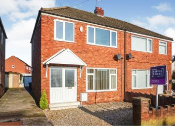 Thumbnail 3 bedroom semi-detached house for sale in Finkle Street, Stainforth, Doncaster