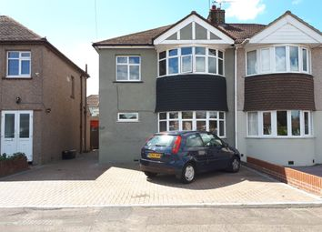 Thumbnail 3 bed semi-detached house for sale in Colyer Road, Northfleet