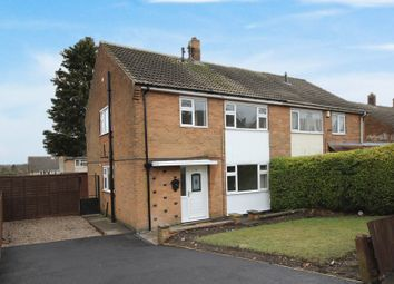Thumbnail 3 bed semi-detached house for sale in Launds Avenue, Selston