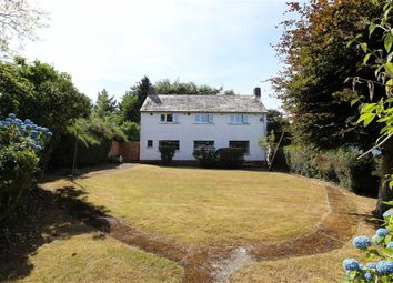 Thumbnail 4 bed detached house for sale in Cefnllan Road, Waunfawr, Aberystwyth