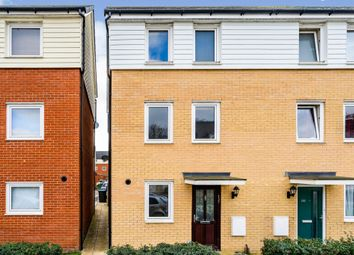 Thumbnail 3 bed end terrace house for sale in Bowhill Way, Harlow