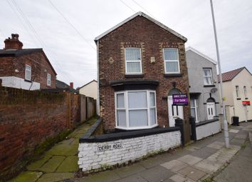 Thumbnail 2 bed semi-detached house for sale in Derby Road, Birkenhead