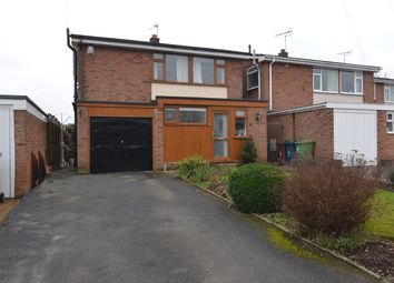 Thumbnail 3 bed detached house for sale in Twemlow Close, Derrington, Stafford