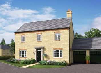 Thumbnail 4 bed detached house for sale in St George's Fields, Wootton, Northampton