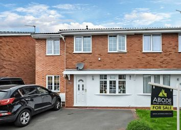Thumbnail 3 bed semi-detached house for sale in Broadlands, Stretton, Burton-On-Trent