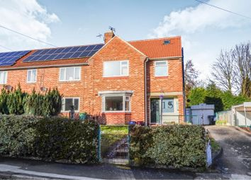 Thumbnail 4 bed semi-detached house for sale in The Knoll, York