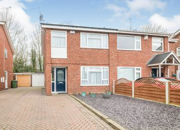 Thumbnail 3 bed semi-detached house for sale in Middleton Close, Winyates East, Redditch