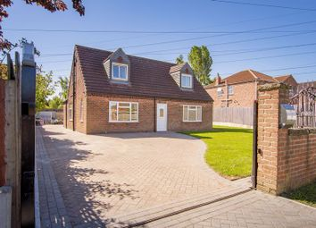 Thumbnail 3 bed detached house for sale in Godnow Road, Crowle, Scunthorpe