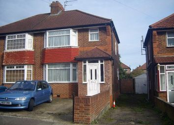 Thumbnail 3 bed semi-detached house to rent in Devon Close, Perivale
