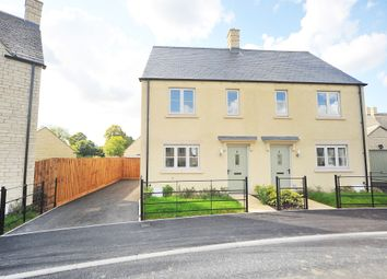 Thumbnail 2 bed semi-detached house for sale in Yells Way, Fairford