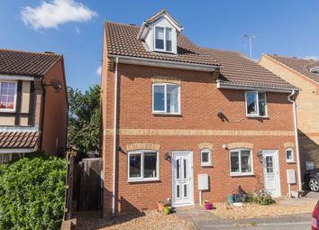 Thumbnail 3 bed end terrace house to rent in Spring Close, Irthlingborough, Wellingborough