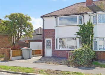 Thumbnail 2 bed semi-detached house for sale in Edward Crescent, Skegness, Lincs