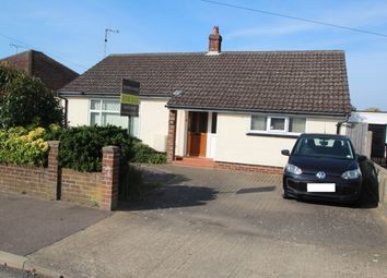Thumbnail 3 bed detached bungalow for sale in Rosemary Avenue, Felixstowe
