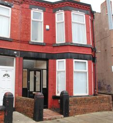 Thumbnail 3 bed end terrace house to rent in Raffles Road, Tranmere, Birkenhead