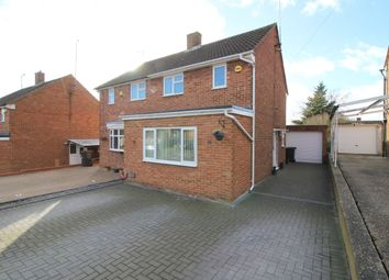 Thumbnail 2 bed semi-detached house for sale in Wellfield Avenue, Luton