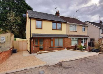 Thumbnail 3 bed semi-detached house for sale in Glebe Road, Loughor, Swansea