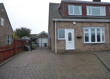 Thumbnail 3 bed semi-detached house to rent in Mill Garth, Cleethorpes