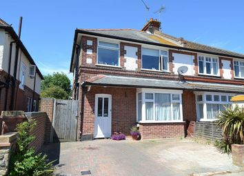 3 bed semi-detached house for sale in Graystone Road, Tankerton, Whitstable CT5