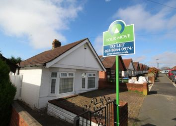 Thumbnail 2 bed bungalow to rent in Wycliffe Road, Southampton